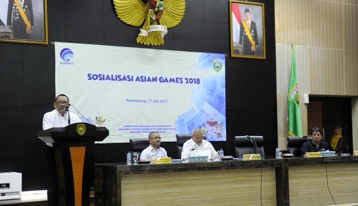 Foto Berita Kominfo: Asian Games Bisa Jadi Magnet Perhatian Dunia