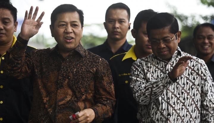Foto Hari Ini KPK Bakal Periksa Lagi Lima Saksi untuk Papa Novanto