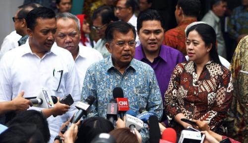 Foto Novanto Tersangka, Wapres: Perbuatan Tercela Pasti Ada Sanksi