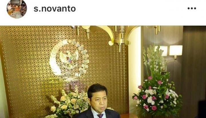 Foto Berita Novanto Jadi Tersangka di Tanggal Cantik 17-7-17