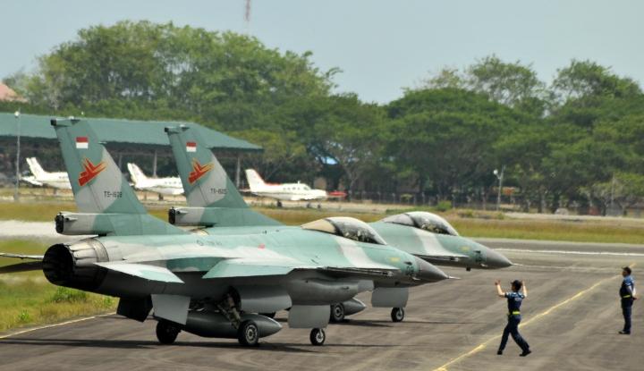 Foto Berita TNI AU 'Berang' ke Singapura Gara-Gara Ini