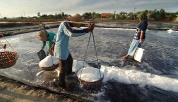 Foto PT Garam Minta Kemendag Cepat Kasih Izin Kapal yang Bawa Garam Impor