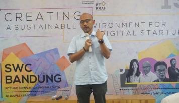 Foto Bekraf dan Fenox VC Gelar Roadshow Startup World Cup di 8 Kota