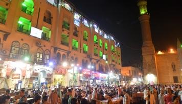 Foto Mesir Jaga Rakyatnya saat Ramadan dari Corona dengan Tak Izinkan Berbagai Kegiatan