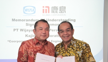 Foto WIKA Gandeng Kajima Kembangkan WIKA Engineering and Research Institute