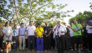Foto Gubernur Sumsel Buka Ajang Asian Triathlon Championship
