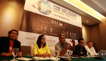 Foto Bali Kei Archipelago Festival 2017, Incar Ribuan Turis