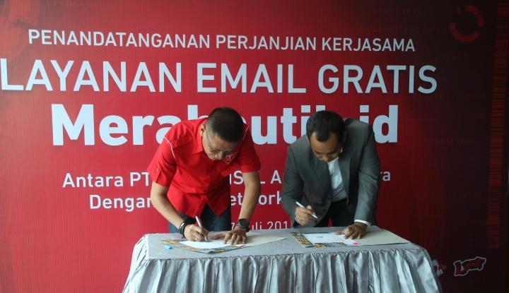 Foto Berita IPNet Hadirkan Layanan Webmail Merahputih.id