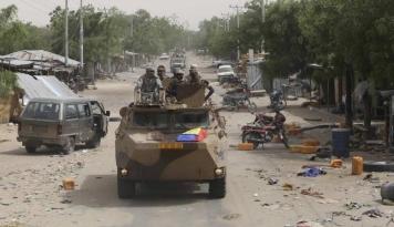 Foto Tentara Nigeria: Tangkap Pemimpin Boko Haram, Hidup atau Mati!
