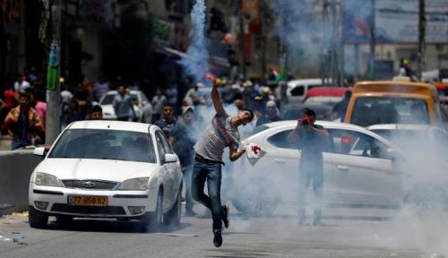 Foto Israel: Iran Biayai Aksi Demonstrasi Warga Palestina di Gaza