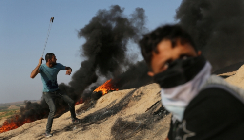 Foto 2 Remaja Palestina Tewas Setelah Bentrok dengan Militer Israel