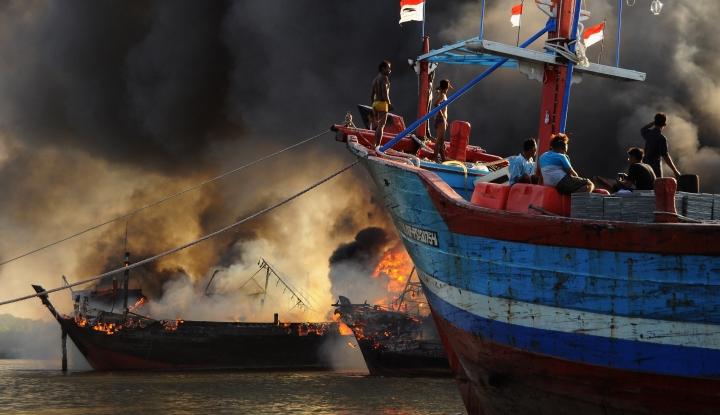 Kebakaran Kapal di Muara Baru Akibatkan Rugi Rp23,4 Miliar - Warta Ekonomi