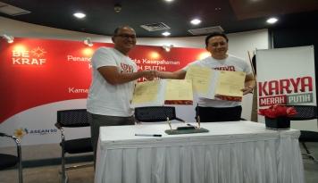 Foto Kerja Sama Bekraf dan Kadin Inisiasi Program Karya Merah Putih