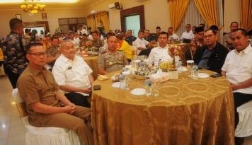 Foto Jelang Pilkada, Kapolda Sumsel Ajak Parpol Bersilaturahmi