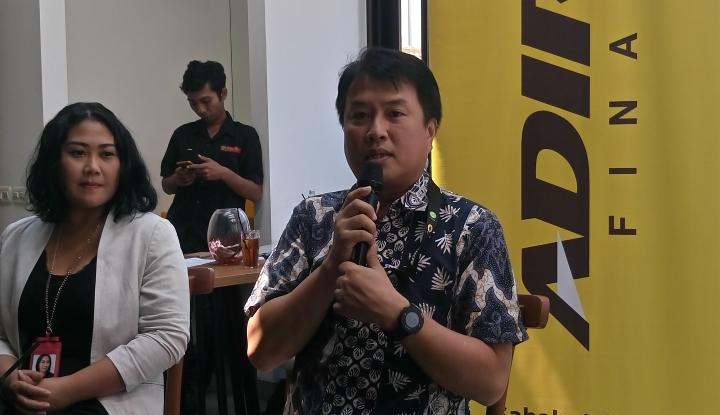 Foto Kejar Pembiayaan Rp35 Triliun, Adira Finance Fokus di Mobil Penumpang