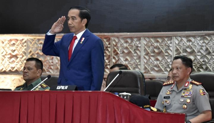 Foto Berita Jokowi Masih Pikir-pikir Soal Pengganti Jenderal Gatot