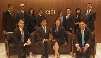 Foto Citi Indonesia Sabet Penghargaan Best Foreign Bank dari Finance Asia