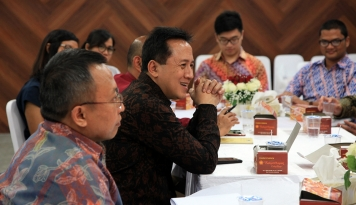 Foto Plug and Play Indonesia Menghadap Kepala Bekraf dan Menhub