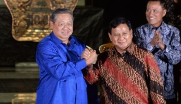 Foto Pertemuan SBY-Bowo Bakal Dijadwal Ulang