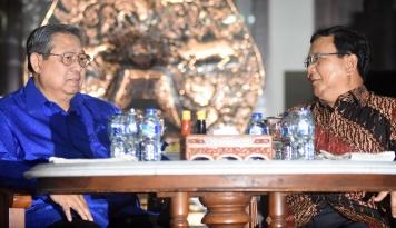 Foto Hadir di Cikeas, Prabowo Masih sebut SBY 'Pak Presiden'