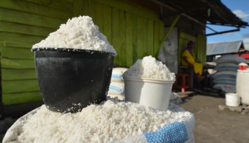 Foto Gawat, Di Kalibata Harga Garam Tembus Rp70.000