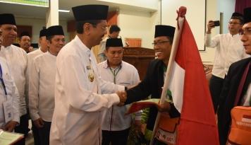Foto HUT RI Ke72, Gubernur Sumut: Perang Kita Lawan Kemiskinan dan Kebodohan