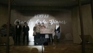 Foto Rempah Charity Gala Dinner Ramuan Mahasiswa Prasetiya Mulya