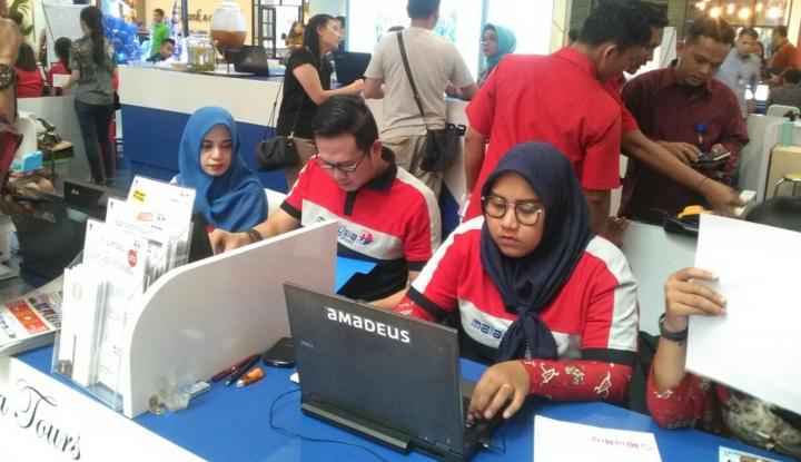 Tingkatkan Penjualan, Malaysia Airlines Gelar Travel Fair di Medan - Warta Ekonomi