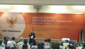 Foto Yudi Latif: Pancasila Sudah Terbukti...