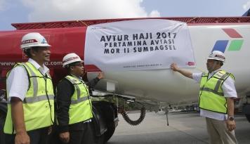 Foto Sambut Nataru, Mulai Hari Ini Pertamina Diskon Harga Avtur 20%