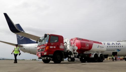 Foto Sukseskan Penerbangan Haji, Pertamina Kalimantan Siapkan 2.070 KL Avtur