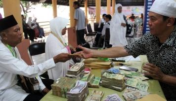 Foto Tau Gak, Denda Haji Bisa Dibayar di Bank Arab Loh