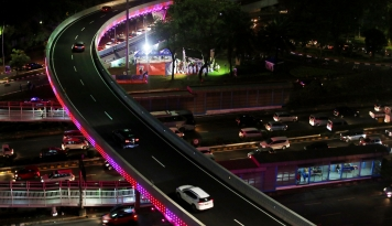 Foto Riau Bakal Bangun Jembatan Layang Sepanjang 425 Meter