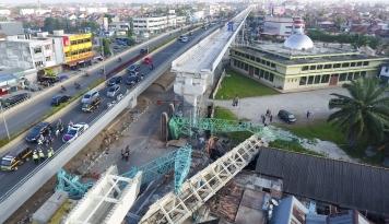 Foto Skema Jalur LRT Masih Perdebatkan Lokasi Stasiun Persilangan