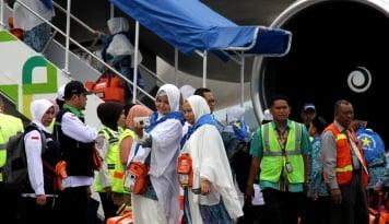 Foto 1.800 Jamaah Haji Indonesia Diterbangkan ke Tanah Suci