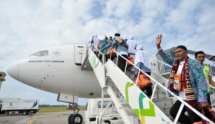 Foto Berita Tidak Libur, Kemenag Sudah Proses 118 Kloter Visa Jamaah Haji