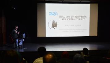 Foto IFI Jakarta Adakan Seminar Keseharian Pelajar SMA di Indonesia