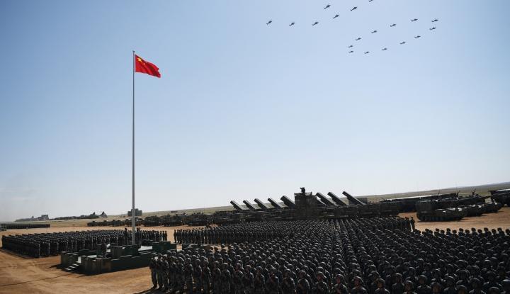 Foto Berita Capres Ini Akui Tak Gentar Lawan China