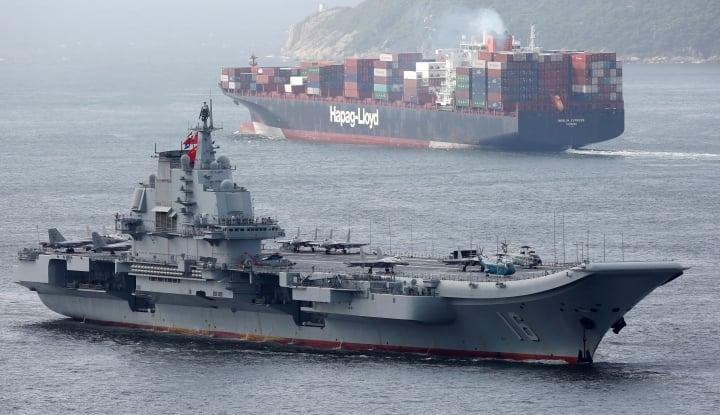 Foto Berita China Ingin Bangun Kapal Induk Bertenaga Nuklir