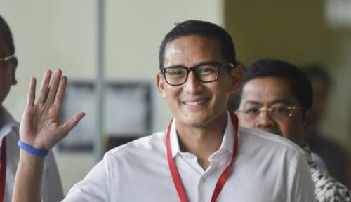 Foto Rajin Bayar Pajak Sebelum Jatuh Tempo, Sandiaga Jadi WP Percontohan