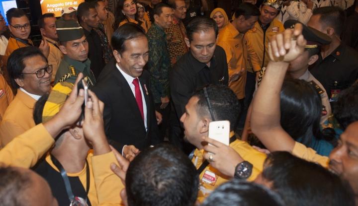 Foto Berita Dapat Arahan soal Cawapres dari Jokowi, Oso Ogah Buka Apa isinya...