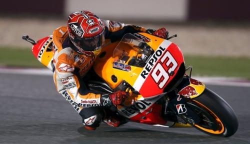 Foto Marquez Rebut Juara Dunia MotoGP Keempat Kalinya