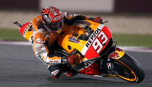 Foto Juarai GP Misano, Marquez Kandaskan Perlawanan Quartararo