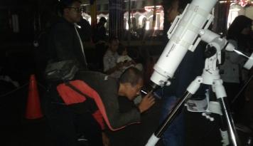Foto Gawat! Polusi Cahaya di Bosscha Sudah Parah