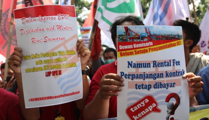 Foto Berita Demo Pegawai JICT Berakhir