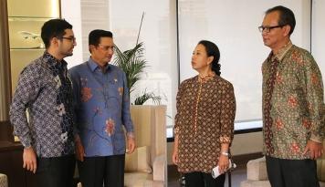 Foto Antara Menteri Rini, BUMN, dan ICE 2017