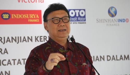 Foto Tahun Politik, Mendagri Ingatkan Kepala Daerah Ikut Jaga Keamanan