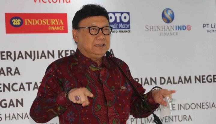 Foto Berita Temui Pimpinan DPR, Mendagri Akan Bahas Ini