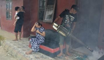 Foto Saat se-Indonesia Fokus Corona, DBD Bunuh 170 Nyawa
