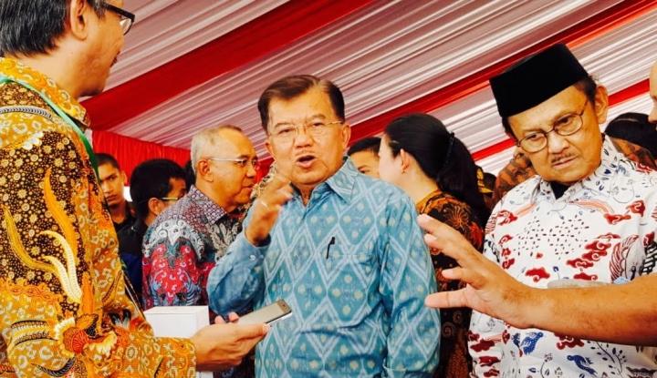 Foto Berita Ini Kata JK Pendamping yang Cocok untuk Jokowi